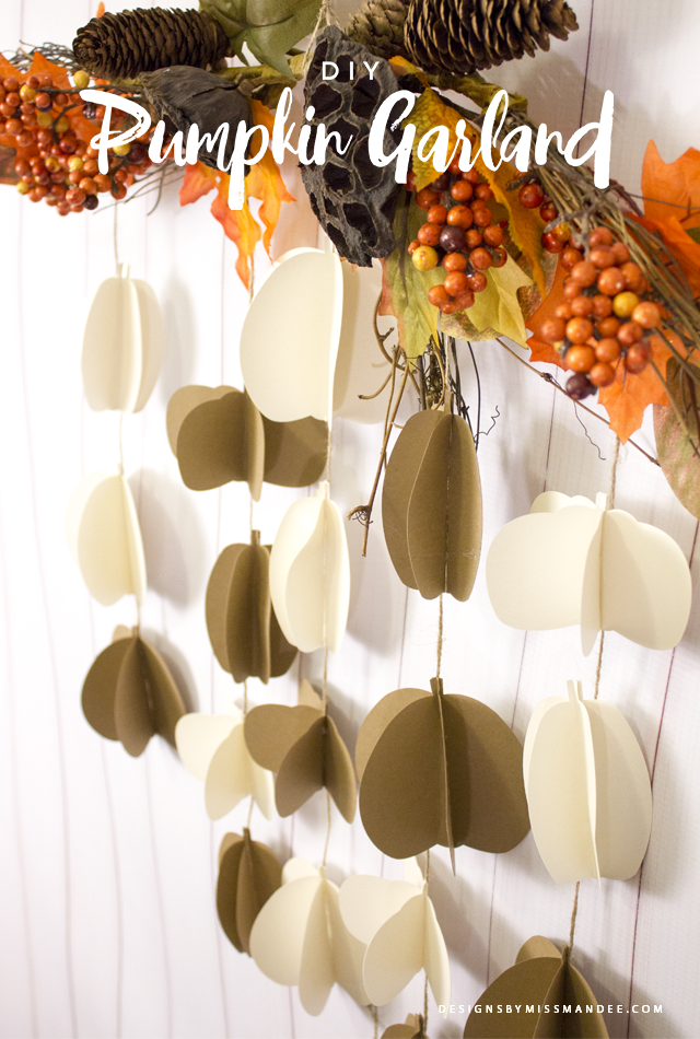 Pretty Pumpkin Garland