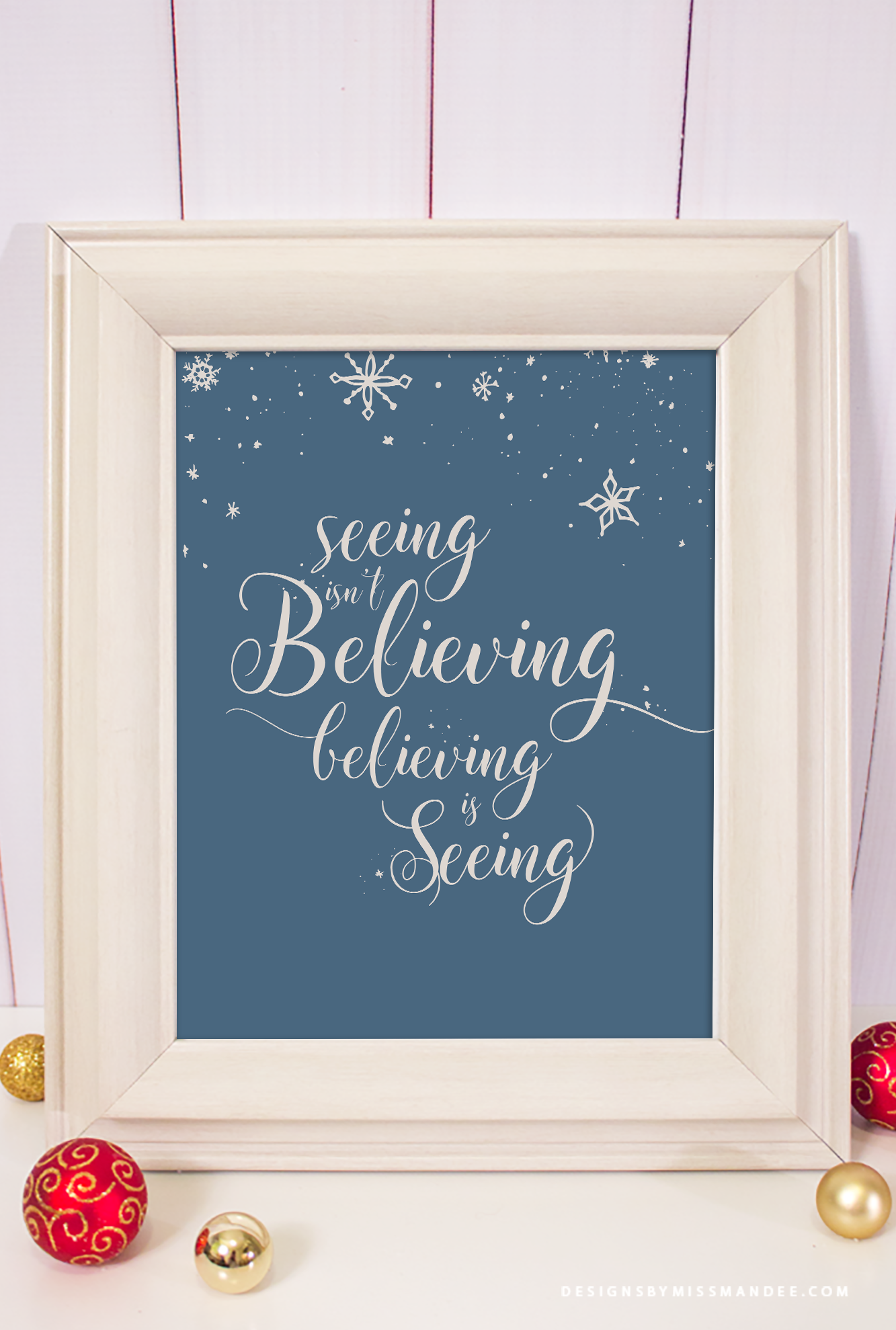 Christmas Decor Printable