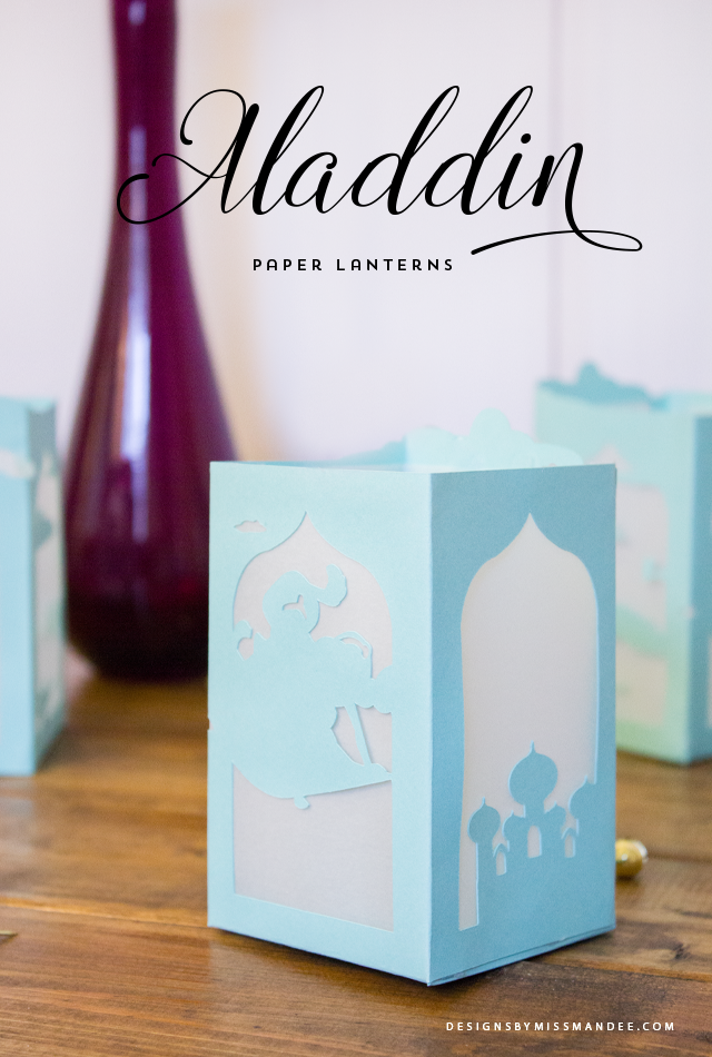 Aladdin Paper Lantern Designs By Miss Mandee
