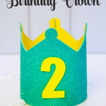 Cute Foam Birthday Crown