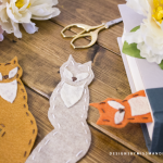Felt Fox Bookmarks