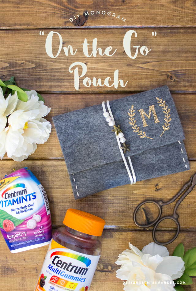 "DIY ""On the Go"" Pouch"