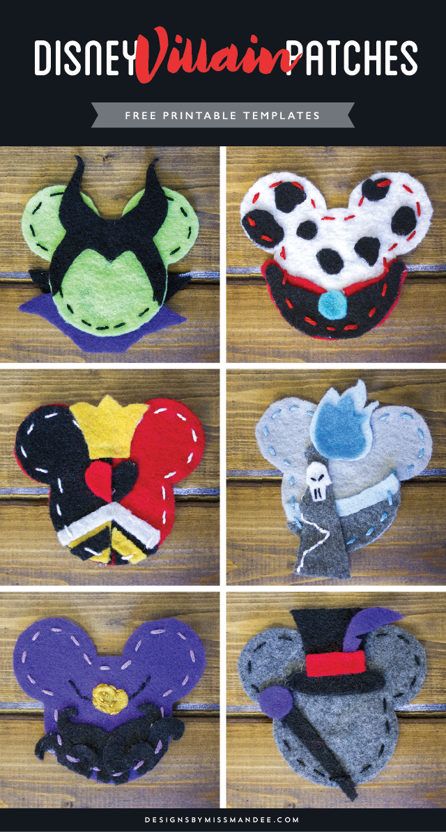 DIY Disney Villain Patches