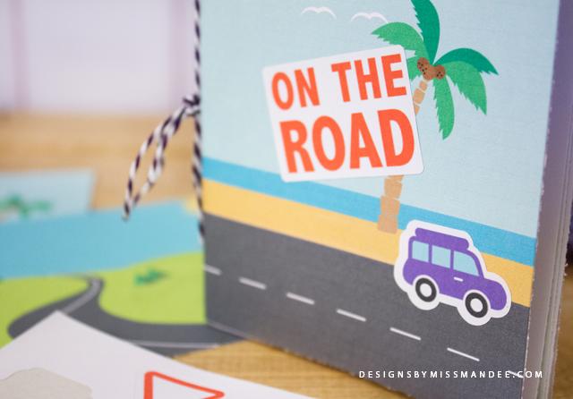 Road Trip Sticker Book