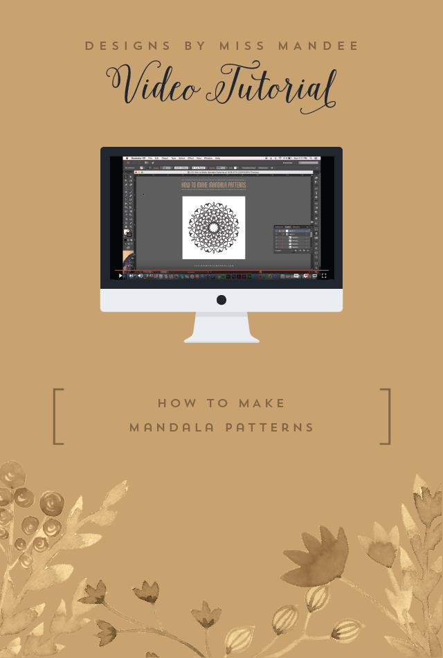 How to Make Mandala Patterns