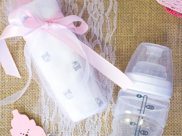 DIY Baby Bottle Gift