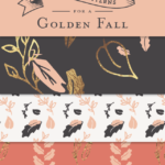 Golden Fall Seamless Pattern Collection
