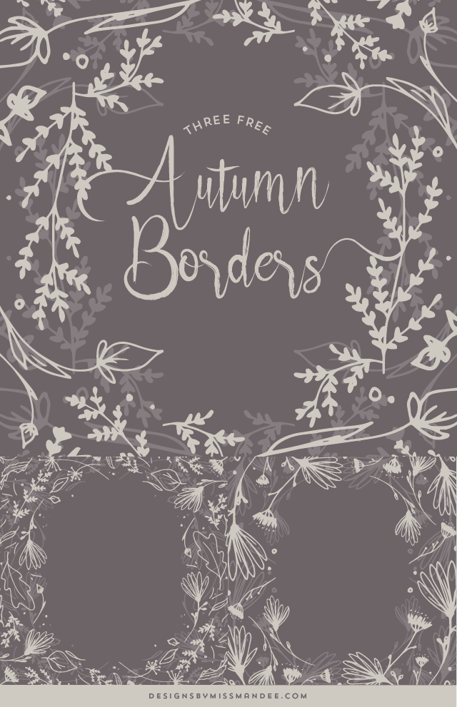 Autumn Borders