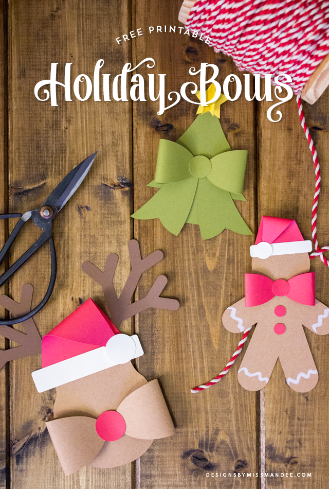 Crafty Holiday Bows