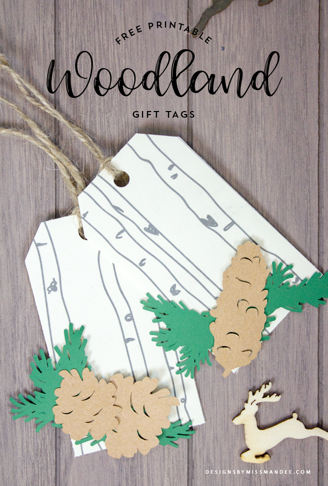 Woodland Gift Tags