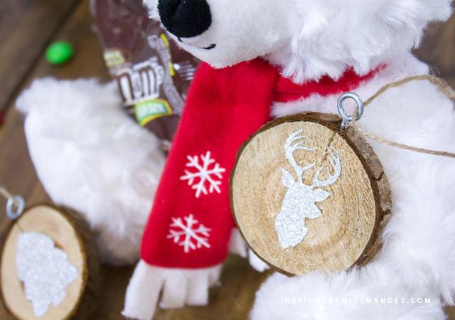 Wood Slice Ornaments