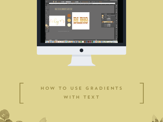 How to Use Gradients with Text