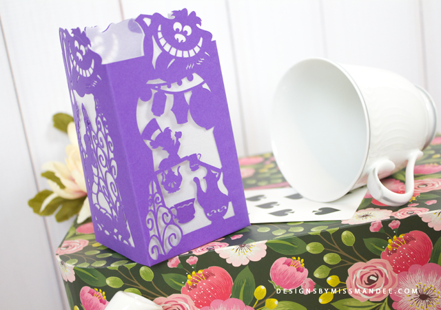 Alice in Wonderland Paper Lantern