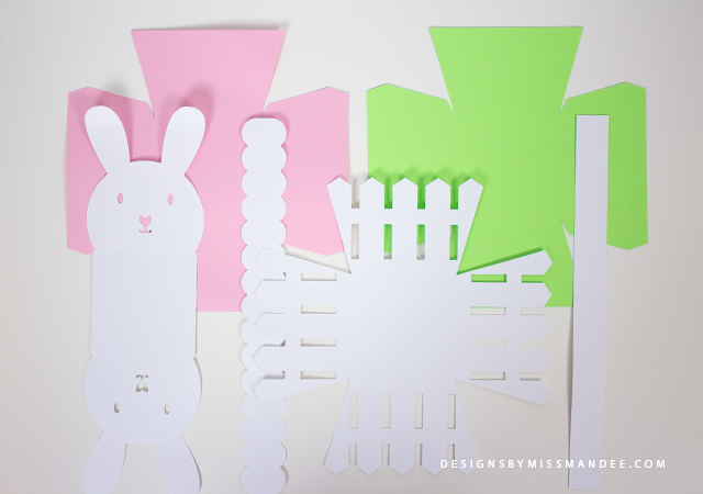 Die Cut Easter Baskets