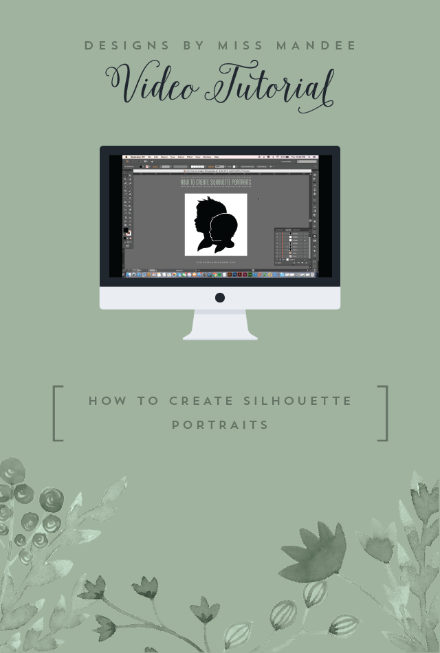 How to Create Silhouette Portraits