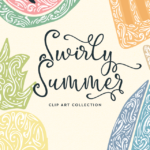 Swirly Summer Graphics
