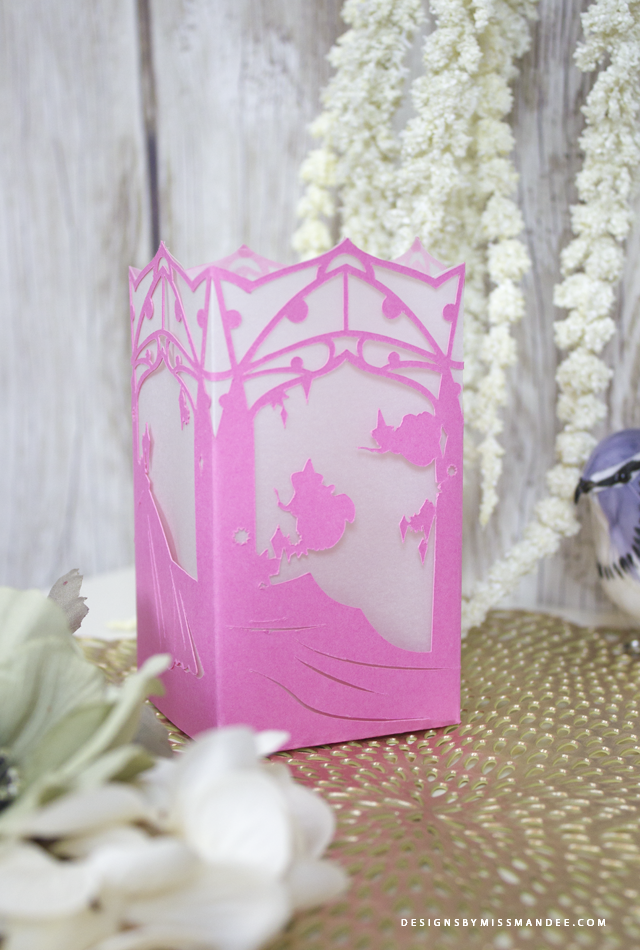 Sleeping Beauty Paper Lantern