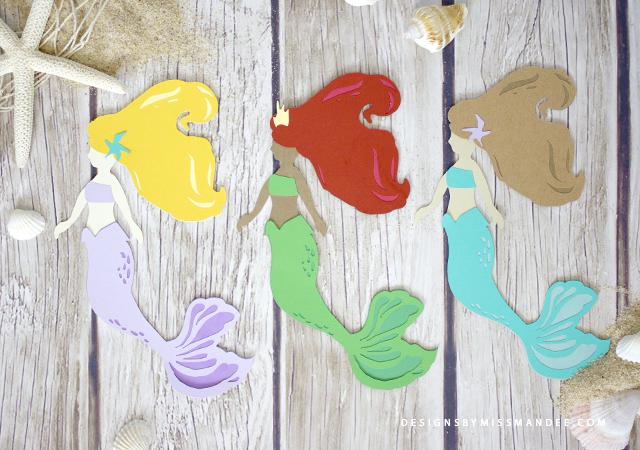 Die Cut Mermaid