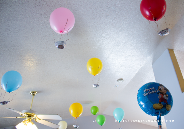 Die Cut Hot Air Balloons