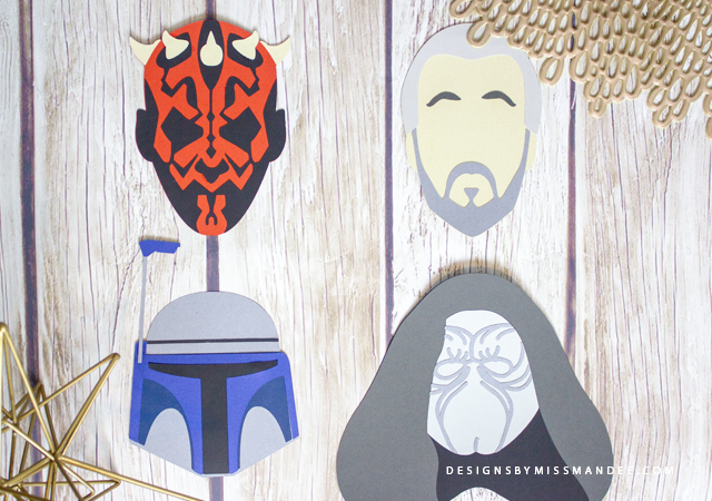 Star Wars Die Cuts