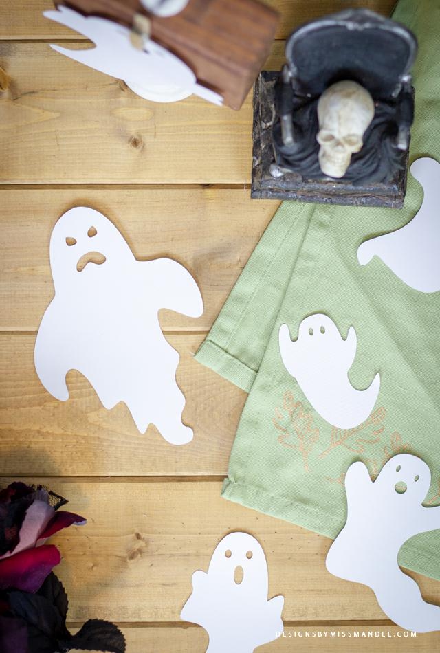 Die Cut Ghosts