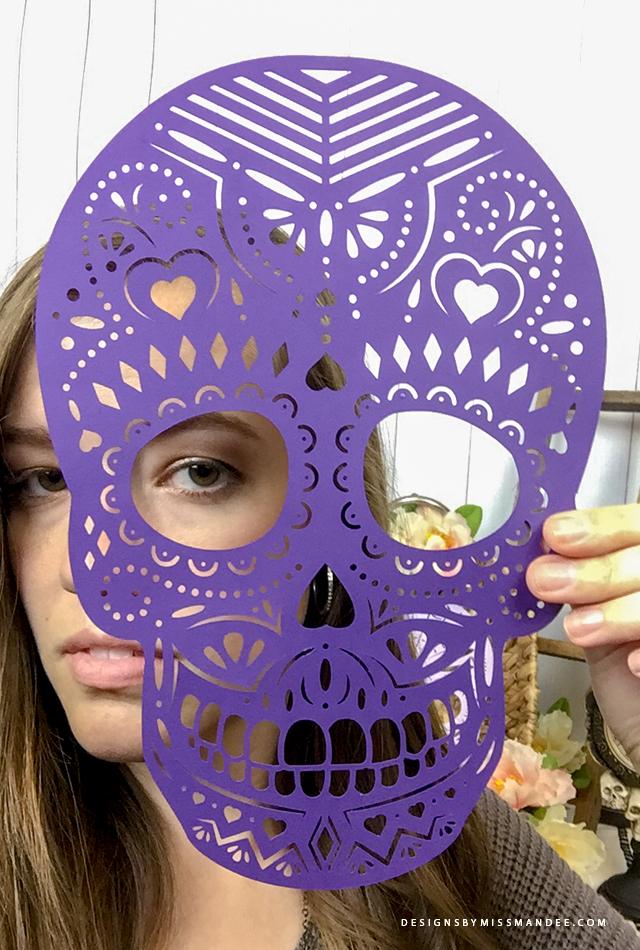 Die Cut Skulls