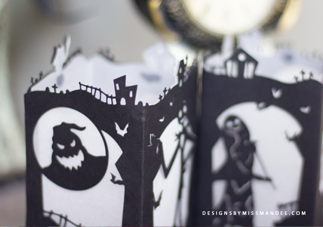 Nightmare Before Christmas Paper Lantern