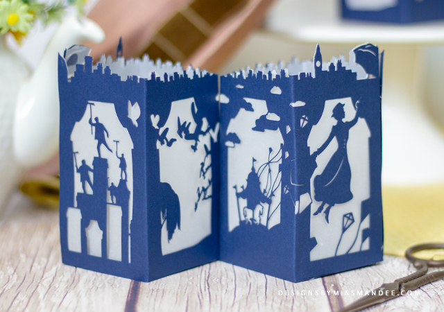 Mary Poppins Paper Lantern