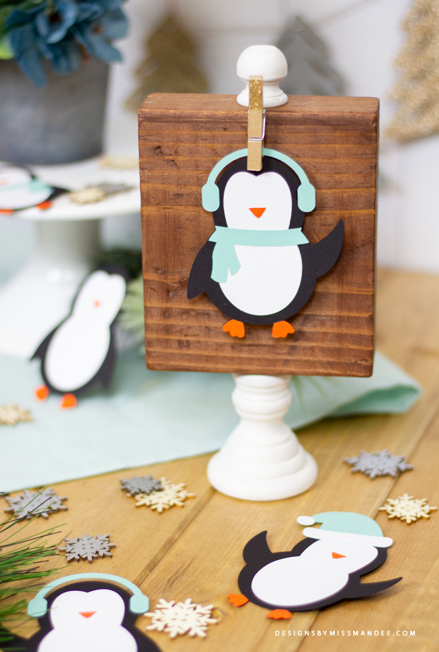 Die Cut Penguins
