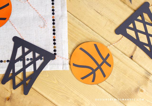 Basketball Die Cuts