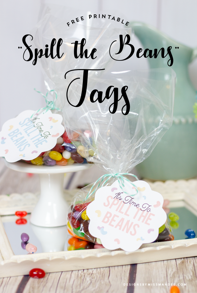 """Spill the Beans"" Printable"