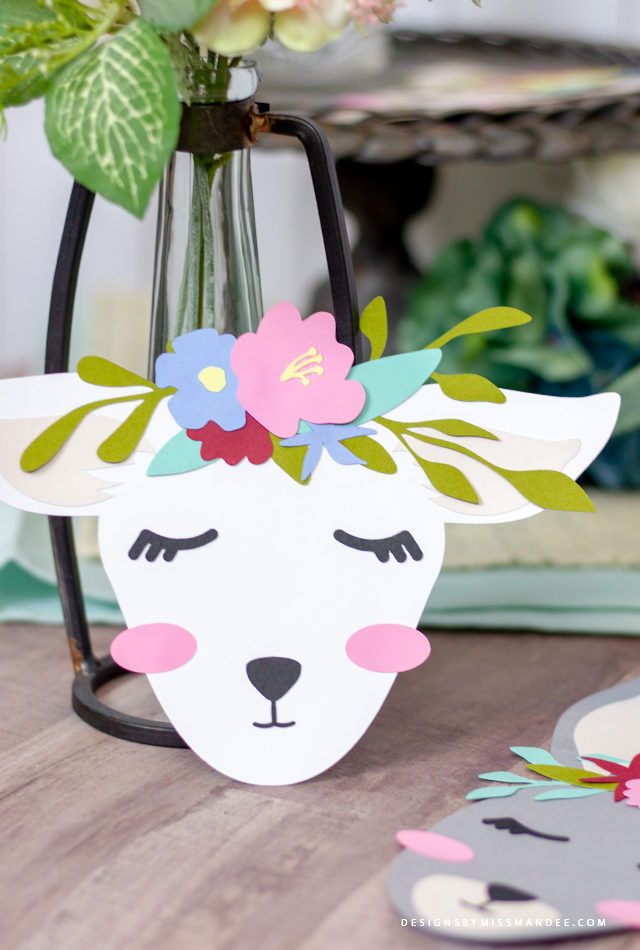Spring Animals with Flower Crowns