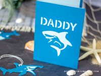 Daddy Shark Card