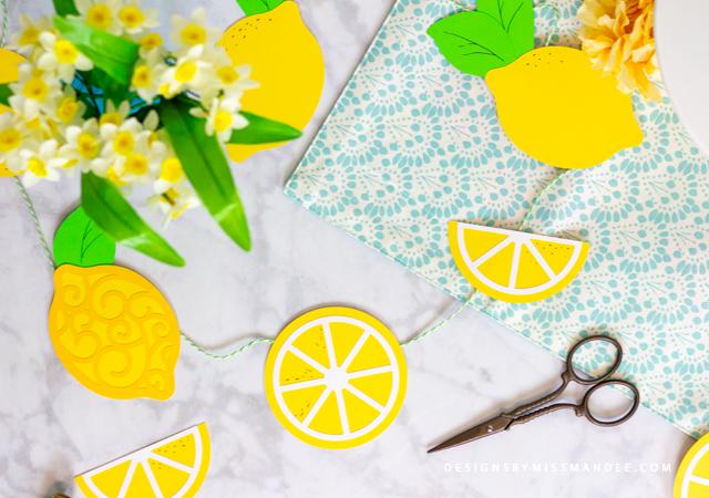 Die Cut Lemons