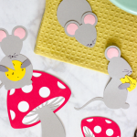 Die Cut Mice