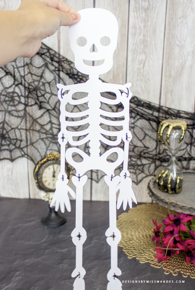 Die Cut Skeleton