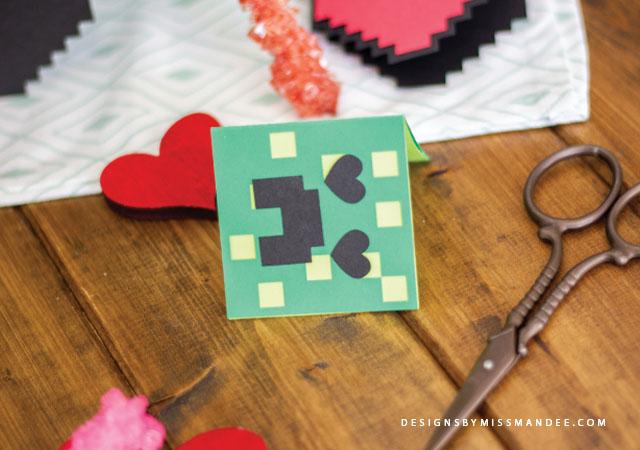 Minecraft Valentine Cards