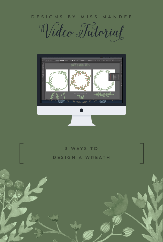 3 Ways to Design a Wreath