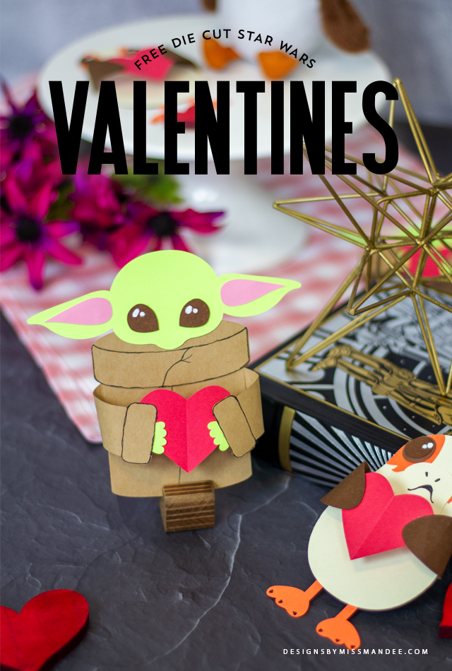 Adorable Star Wars Valentines