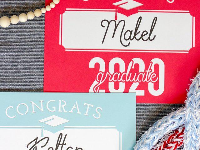 2020 Graduation Sign
