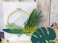 Die Cut Tropical Leaves