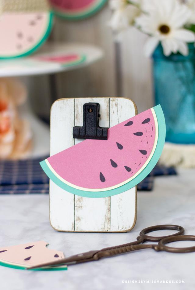 Die Cut Watermelons