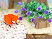 Woodland Puzzle Animals