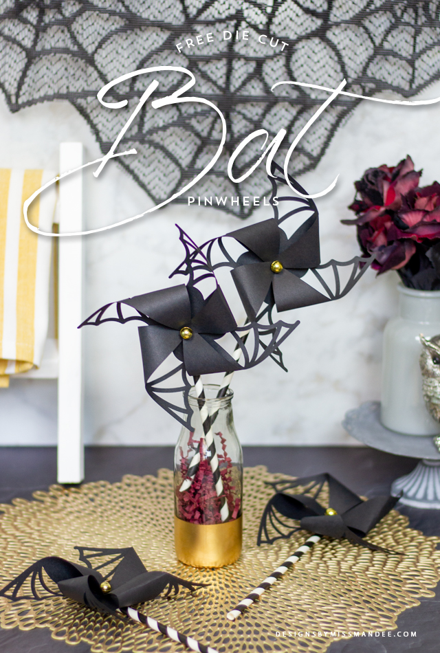 Bat Wing Pinwheels