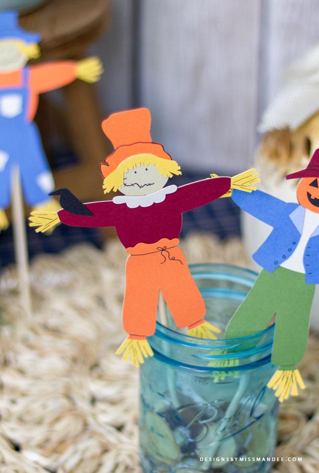 Die Cut Scarecrows
