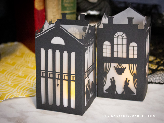 Haunted Mansion Paper Lantern