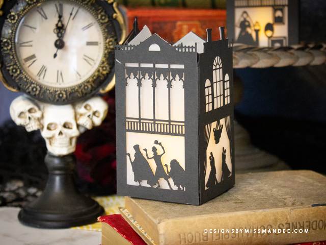 Haunted Mansion Paper Lantern
