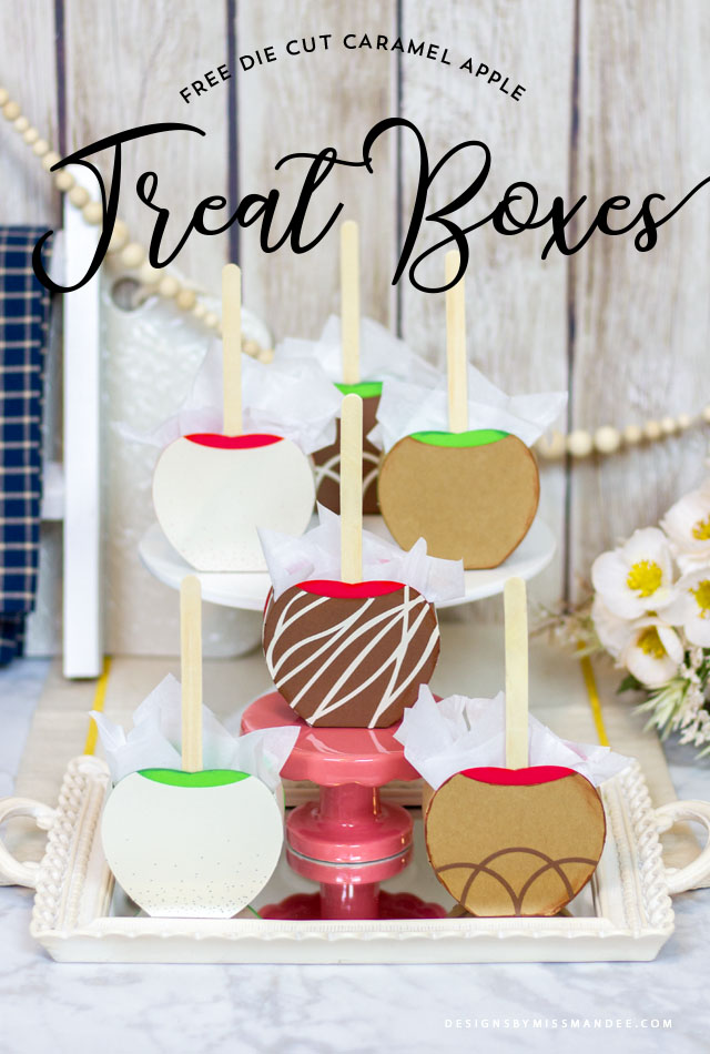 Caramel Apple Treat Boxes