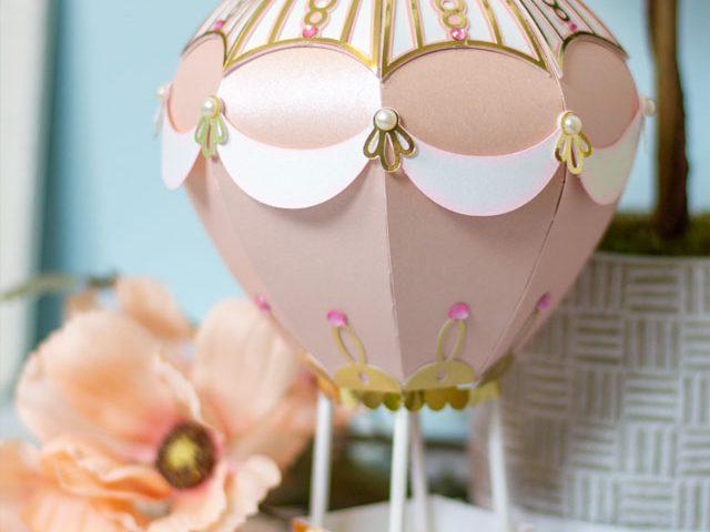 3D Hot Air Balloon